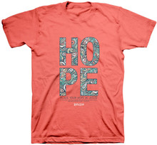 Kerusso Hope Paisley Christian Women's T-Shirt