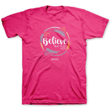 Kerusso Believe Christian Women's T-Shirt