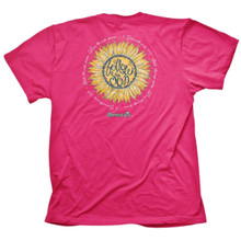 Cherished Girl Follow the Son Women's Christian Shirt by Kerusso Back