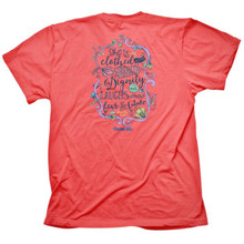 Cherished Girl Strength & Dignity Women's Christian Shirt by Kerusso Back
