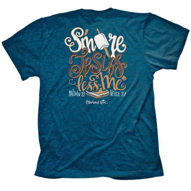 Cherished Girl S'more Jesus Women's Christian Shirt by Kerusso Back