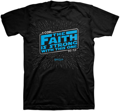 Kerusso The Faith Is Strong With This One Christian Shirt