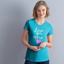Love You More Shirt by Grace & Truth