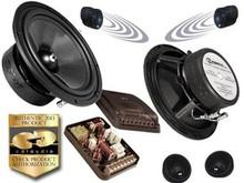 """CDT Audio ES-62iUS  Competiton 6.5"""" 2-Way ES-GOLD Component Speaker w UpStage System-10yr Warranty"""
