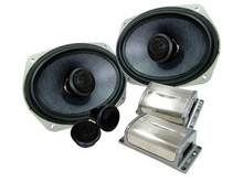 "XS69 Image Dynamics 6""x9"" Component Speaker Set w Silk Tweeter"