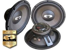"""12"""" HD-1200CFS CDT Audio """"Slim"""" Cast Carbon Fiber Subwoofer"""