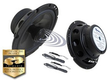 "6.5"" CL-6CX CDT Audio Coaxial Speaker Pair w Crossover & Swivel Tweeter"