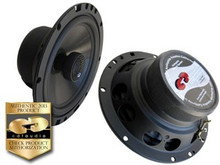 "6.5"" HD-6EX CDT Audio Carbon Fiber 2-Way ""Slim"" Coaxial Speaker Pair"