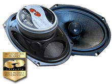 6x9 HD-690CFX CDT Audio Carbon Fiber Coaxial Speakers
