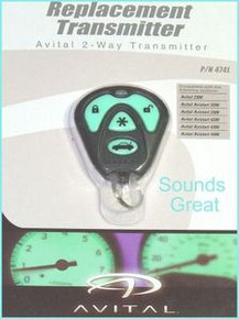 Avistal AVISTART 4000 Replacement Remote 474L      NEW!