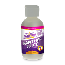 Tachyonized Panther Juice, a Tachyon energy product, delivers Tachyon directly to the source to relieve muscle, joint and arthritis pain, swelling and strains. Shop Now.