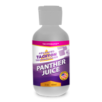 Tachyonized Panther Juice, a Tachyon tantra energy product, delivers Tachyon directly to the source to relieve muscle, joint and arthritis pain, swelling and strains. Great for tantra practitioners and tantrikas..