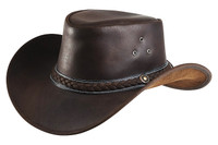 "Randol's ""Style"" Leather Hat"