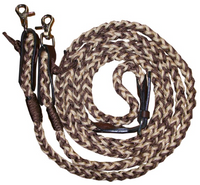 """Tamar"" Braided Reins"