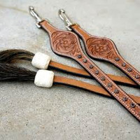 """Dallas"" Leather Split Reins"