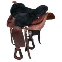 Western Sheepskin Seat Cover