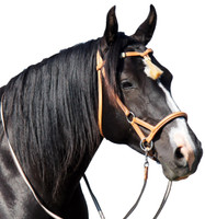 """Shango"" Bitless Leather Bridle"