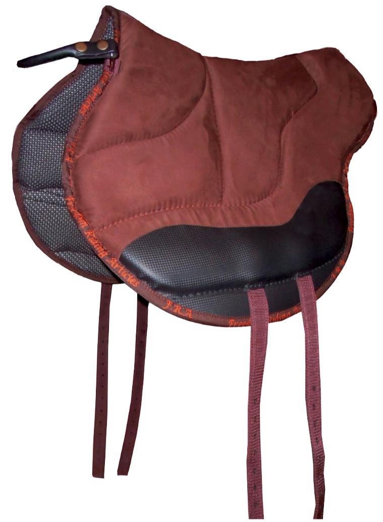 Bareback on a chair