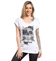 Sullen Love Lace Tee  SULLEN-LOVELACE