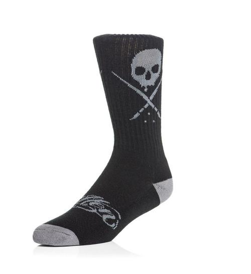 Sullen Standard Issue Socks Black/Gray