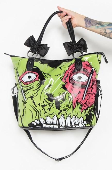 Iron Fist Zombie Chomper Tote Bag  IFL-PUR-10893