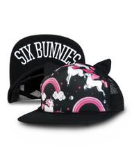 Six Bunnies Kid's Rainbows Cap  SB-CAP-00063