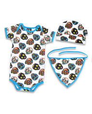 Six Bunnies Sugar Skull Baby Gift Set  SB-SET-00021
