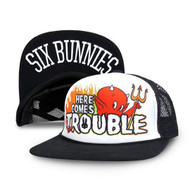 Six Bunnies Here Comes Trouble Cap  SB-CAP-018