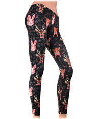 Liquor Brand Forest Animal Legging  LB-LEG-00004