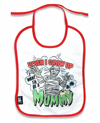 Six Bunnies Mummy Baby Bibs - Zone Rock c3fe2ccf338c