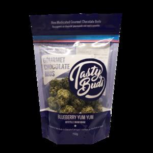 Tasty Bud Buds Blueberry Yum Yum Chocolate 1 QP  TASTY-BUD-BLUE-QP