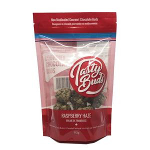 Tasty Bud Buds Raspberry Haze Chocolate 1 QP  TASTY-BUD-RASP-QP