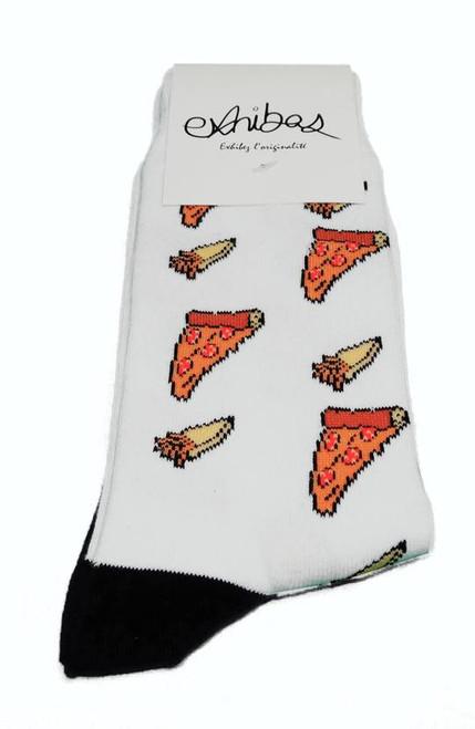 Exhibas Pizza Sock  EXHI-PIZZA