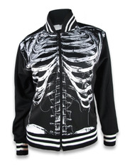 Liquor Brand Ribcage Jacket Black
