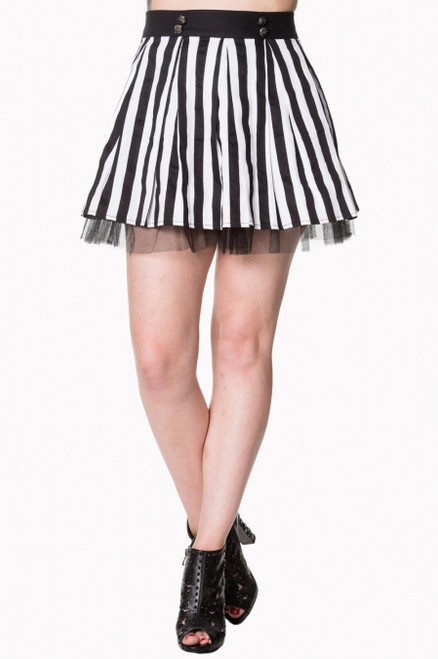 Banned Heart to Heart Mini Skirt
