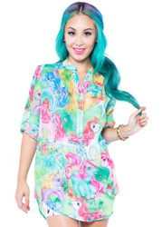 My Little Pony Blouse IFL-FTP-12683