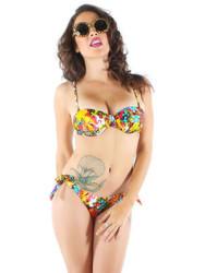 Hellwaiin Holiday Bikini  IFL-BKS-12934