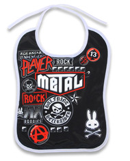 Metal Fan Baby Bib BIB-033