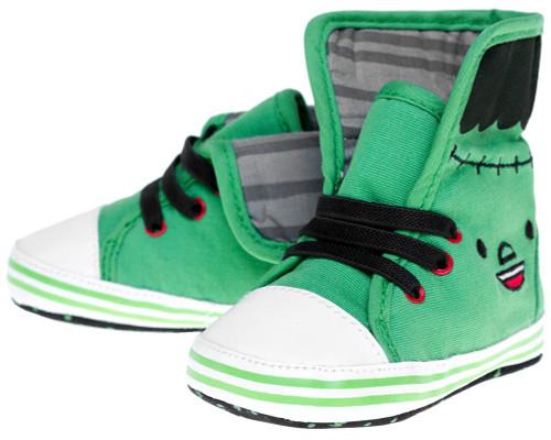 Monster Baby Sneakers Green SPKDSHOE-2