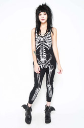 Iron Fist/Them Bones Romper