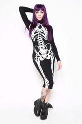 Iron Fist/Wishbone LS Midi Dress  IFW004856