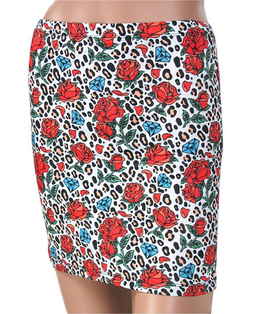 Liquor Brand Leo Rose Skirt  SKT-004