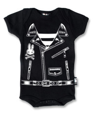 Six Bunnies Rocker Jacket Baby Romper  KK-121