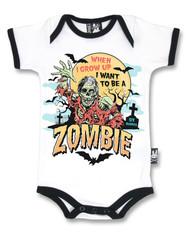 Six Bunnies Zombie Baby Romper  RP-032