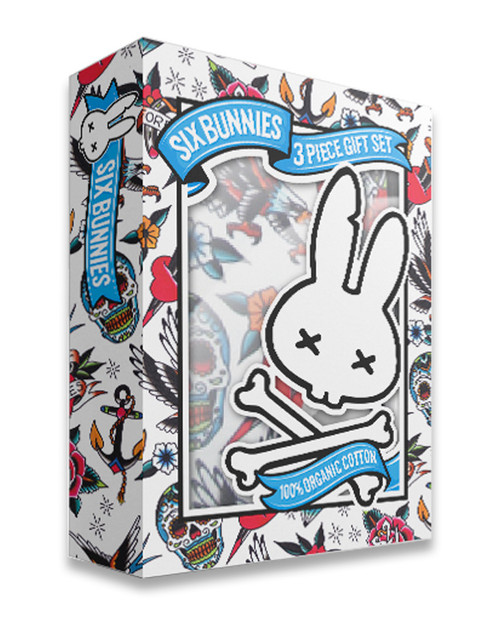 Six Bunnies Tattoo Shoppe Baby Gift Set  SB/SET-012