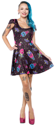 Sourpuss Skater Ice Creep Cones Dress SP-DR-347