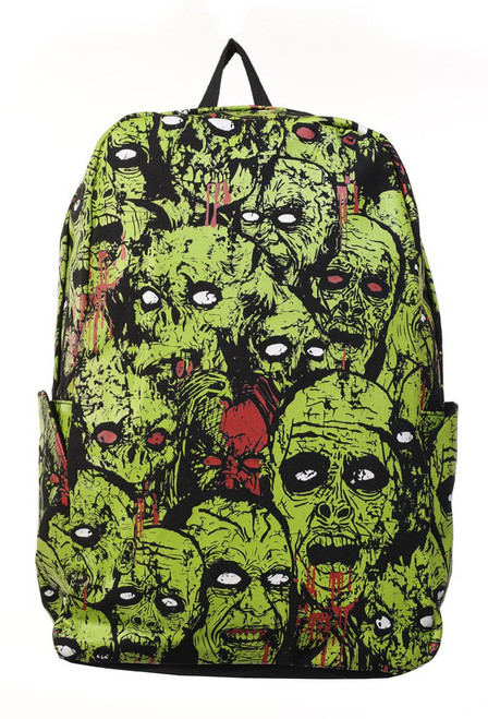 Banned Zombie Green Backpack  BBN-765