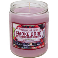 Smoke Odor Mulberry & Spice 13oz Candle