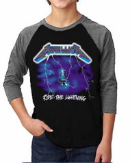 Metallica Ride The Lighting Kids Raglan Tee