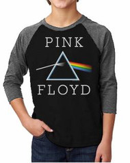 Pink Floyd Darkside Of The Moon Kids Raglan Tee